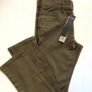 IKKS* (10Y)  YOUTH Boys Pants, Army Green, NWTS*